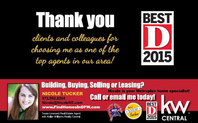 Best agent in Dallas D magazine